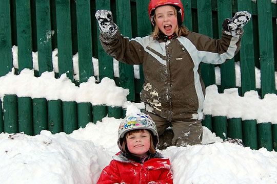 Kids Club at The Hill Skiing Centre Rossendale